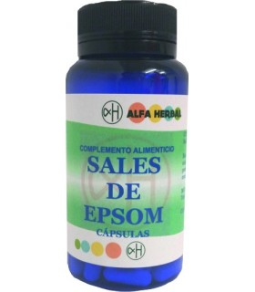 Sales de Epsom 100 Cápsulas (ALFA HERBAL)
