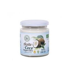 Aceite virgen extra de coco  Bio  -200 gr. (SOL NATURAL)