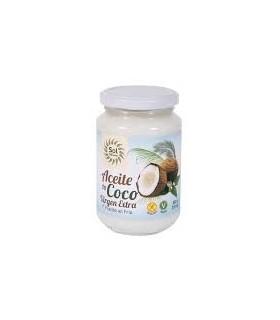 Aceite virgen extra de coco  Bio  -370 gr. (SOL NATURAL)