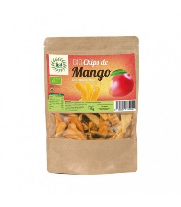 Chips de mango Bio  -125 gr. (SOL NATURAL)