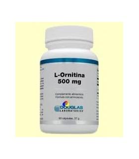 L-Ornitina 500 mg -60 capsulas  (DOUGLAS)