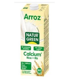 leche arroz con calcio 1l (Natru Green)
