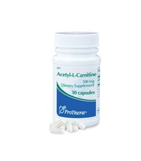 Acetil-L-Carnitina 500 mg