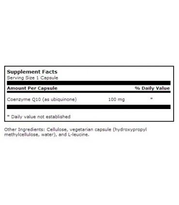 Coenzima Q10 100 mg - 30 caps (KLAIRE LABS)