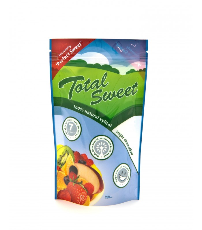 Xilitol (azúcar de abedul)-1kg (TOTAL SWEET)
