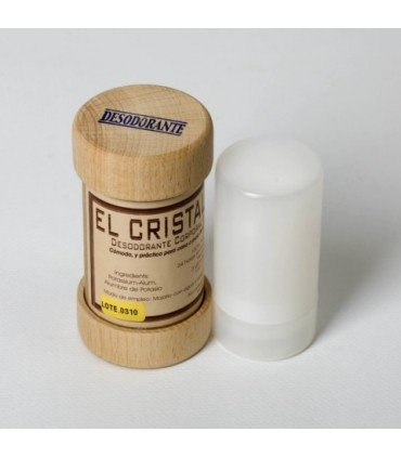 Stick desodorante grande cristal mineral
