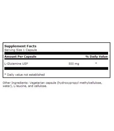 L-Glutamine 500 mg-100 cápsulas (KLAIRE LABS)