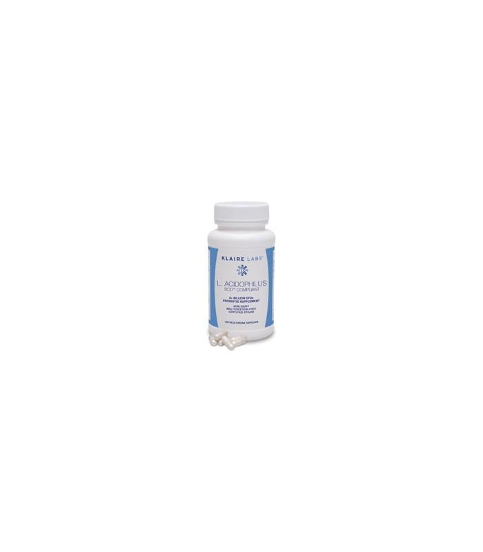 L-Acidophilus-SCD compliant-100 cápsulas (KLAIRE LABS)