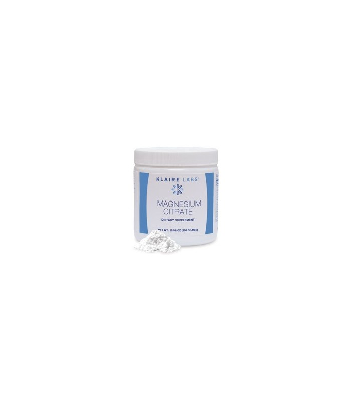 Magnesium Citrate (powder)-300 gramos (KLAIRE LABS)
