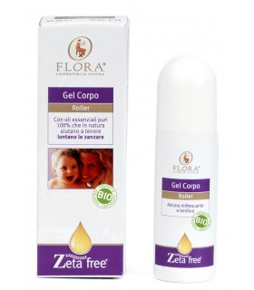 Roll-on gel corporal antimosquitos-50 ml  (FLORA)