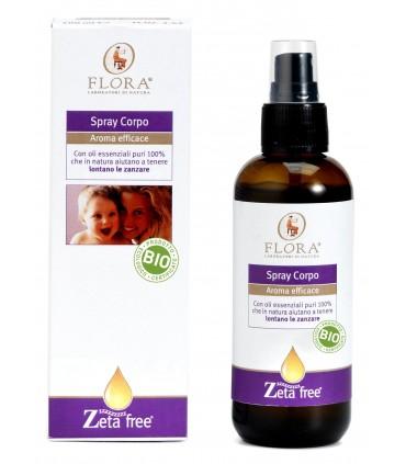 Spray corporal antimosquitos-100 ml  (FLORA)