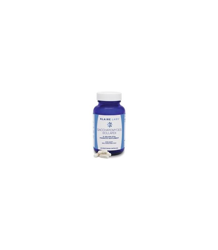 Saccharomyces boulardii-60 cápsulas (KLAIRE LABS)