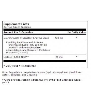 Seren multi-enzyme (antes Seren Aid)-180 caps (KLAIRE LABS)