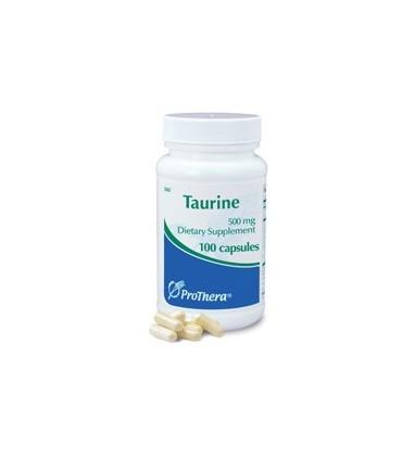 Taurine 500 mg-100 cápsulas (PROTHERA)