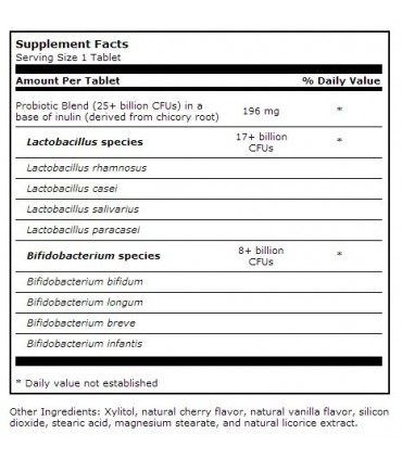 Ther-Biotic Children's Chewable-60 tabletas (KLAIRE LABS)