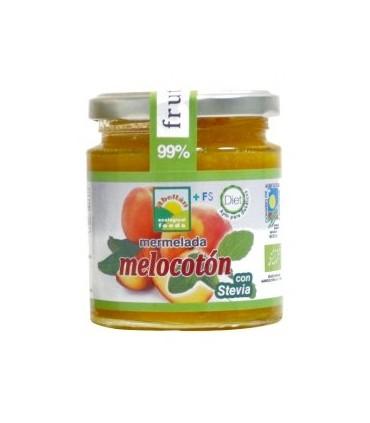 Mermelada Melocotón con Stevia