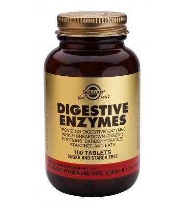 Enzimas digestivas-100 cápsulas (SOLGAR)