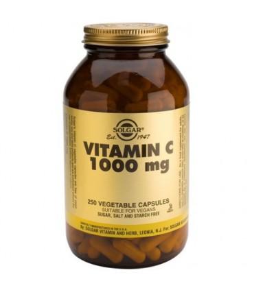 vitamina C 1000 mg-250 cápsulas (SOLGAR)