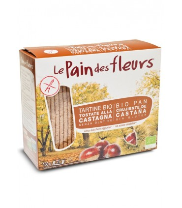 Pan de flores c/castañas bio-300 g (LE PAIN DE FLEURS)