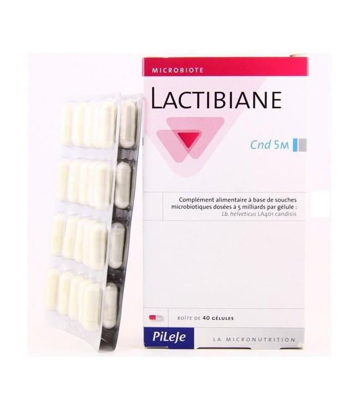Lactibiane CND 5M-40 cápsulas (PILEJE)