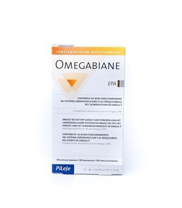 Omegabiane EPA-80 cápsulas  (PILEJE)