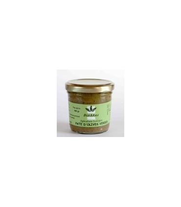 Paté de olivas verdes eco 100gr