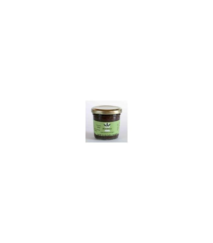 Paté de olivas negras eco 100gr