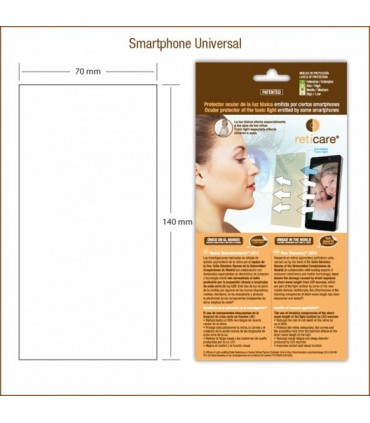 Reticare Universal SmartPhone (70 x 140mm) 1 unidad