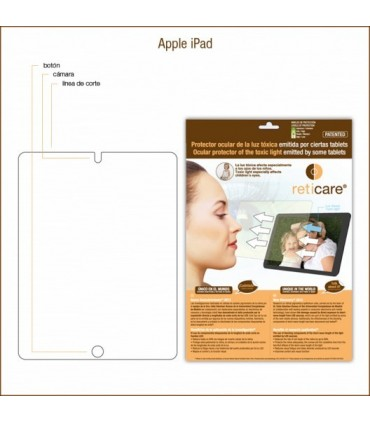 Reticare compatible con Apple iPad, 2, 3, 4 1 unidad