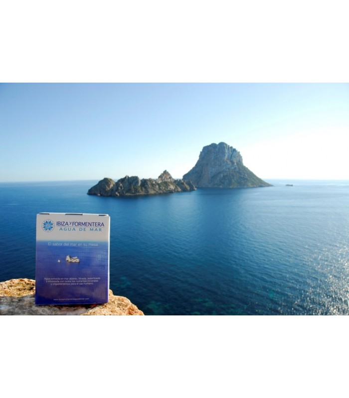 Agua de mar micro filtrada, hipertónica (bag in box)