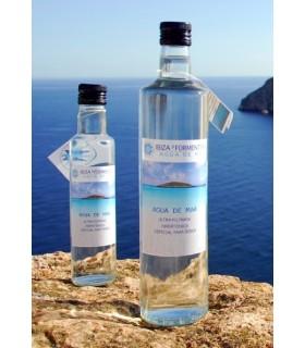 Agua de mar ultra-filtrada hipertónica botella de cristal-100 ml (IBIZA Y FORMENTERA AGUA DE MAR))
